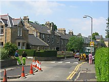 NT1972 : Building speed humps, Corstorphine. by Richard Webb