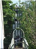 TQ1169 : Bridge to Sunbury Court Island by steve