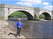 SE0361 : Burnsall Bridge by Mick Melvin