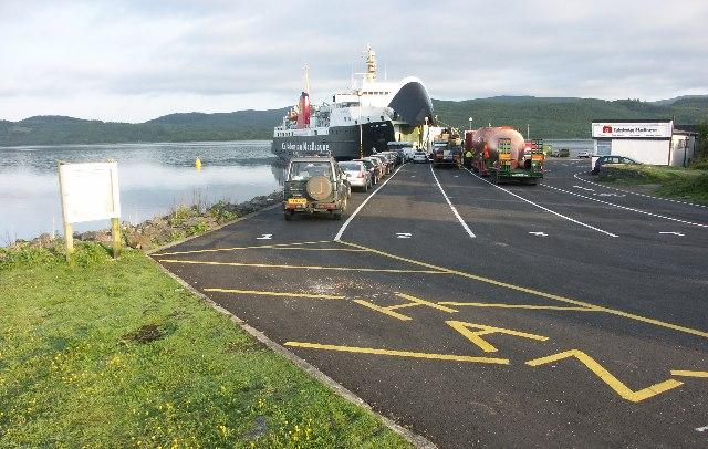Kennacraig ferry terminal