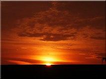 TL4561 : Arbury sunset by H Heasley