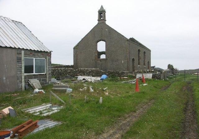 Risabus Church, Oa, Islay