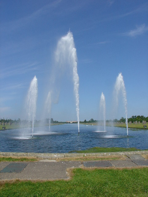 The Long Water, Hampton Court Park