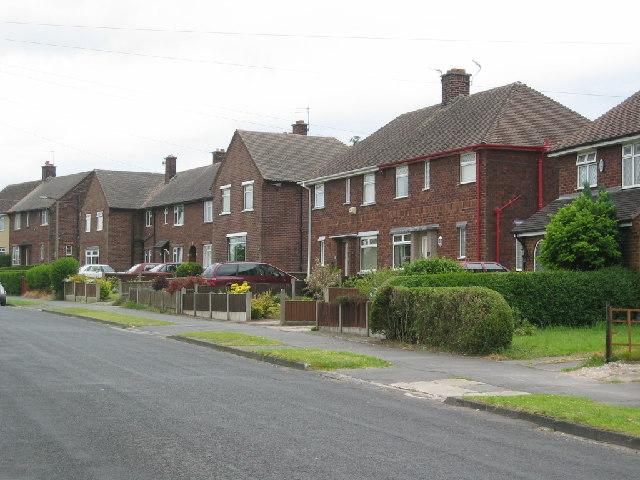 Post war council housing