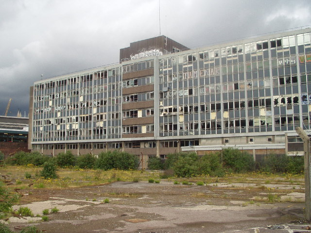 Royal Mail sorting office (derelict), Temple Meads, Bristol