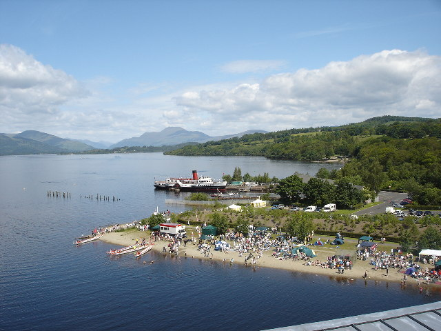 Maid of the Loch from Drumkinnon Tower