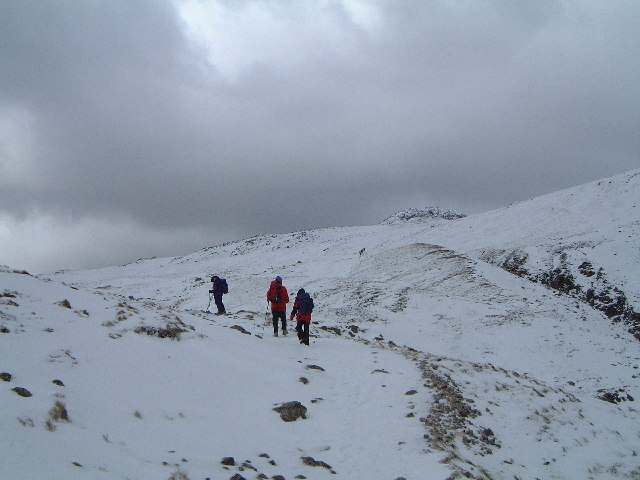 Climb up to Crinkle Crags