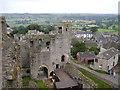 SE1287 : Middleham Castle by David Hatch