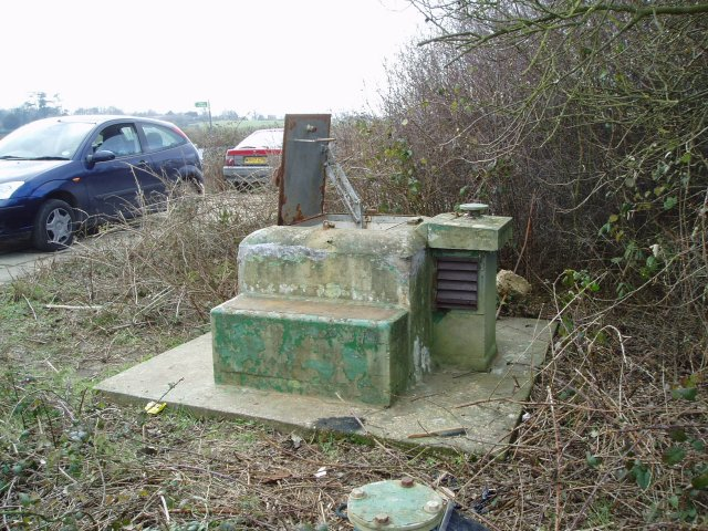 Map Of Uk Nuclear Bunkers.Roc Nuclear Bunker C Hywel Williams Geograph Britain And Ireland
