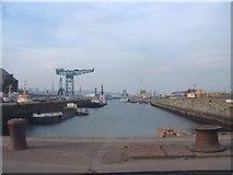 NS2975 : Greenock Docks by Bob Jones