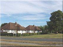 TQ0487 : Bungalows at Denham Green by David Hawgood