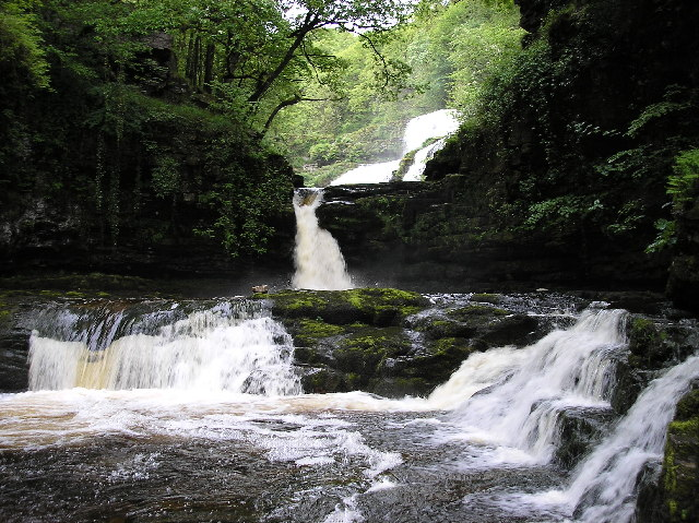 The Waterfalls at Ystradfellte