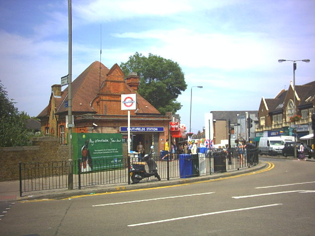 Southfields Underground Station, Wimbledon Park Road.