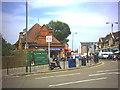 TQ2473 : Southfields Underground Station, Wimbledon Park Road. by Noel Foster