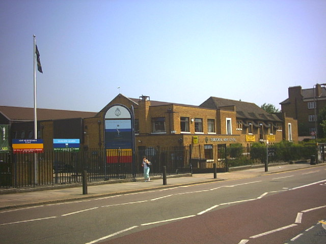 Territorial Army Centre, Merton Road, Southfields.