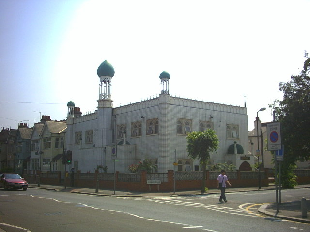 Southfields Mosque, Durnsford Road.