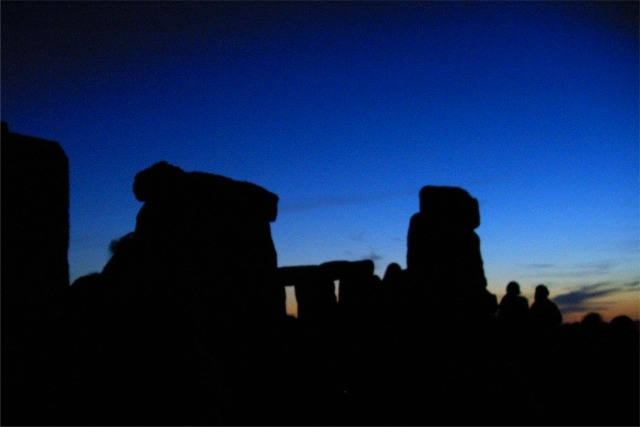 Stonehenge - Pre-dawn Summer solstice 2005