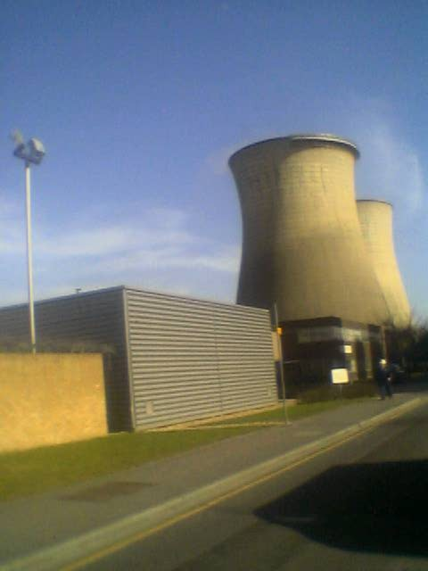 Slough CHP Cooling towers