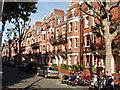 TQ2582 : Mansion flats in Maida Vale by David Hawgood