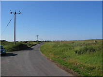 TA4115 : Kilnsea / Spurn Road by Stephen Horncastle