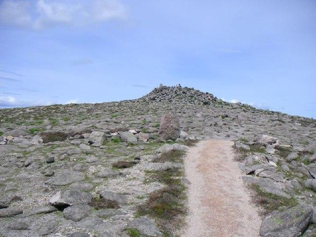 Mount Keen Summit