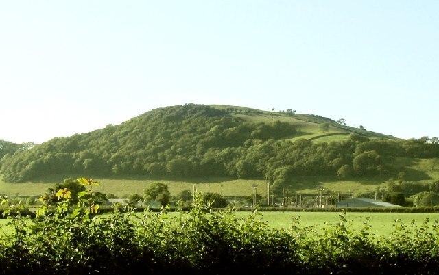 Pen yr Allt near Nantgaredig by Nigel Davies