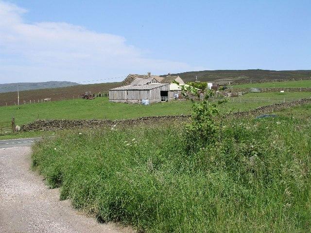 Monk's Road - Hollinworth Head Farm