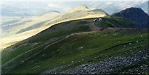 SH6056 : Clogwyn Station on the Snowdon Mountain Railway by Andy Beecroft