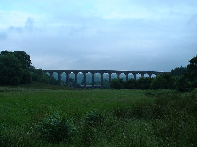Viaduct on the Heart of Wales Railway