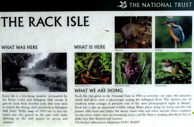 National Trust: Rack Isle- History