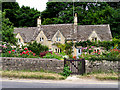 SP1106 : Arlington/Bibury: Cottages by Pam Brophy