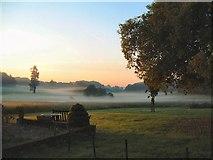 TM2239 : Summer Dawn, Levington from Broke Hall by Tim Elliot