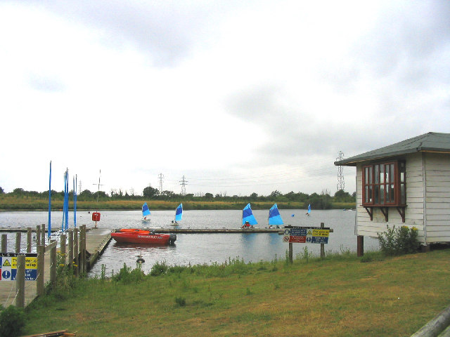 Russell's Lake, Stubbers Outdoor Pursuits Centre, Essex