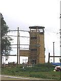 TQ5784 : Climbing Tower, Stubbers Outdoor Pursuit Centre, Essex by John Winfield