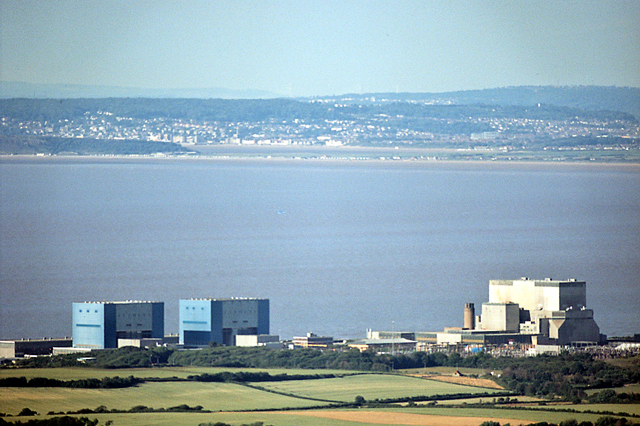 Hinkley Point Nuclear Power Station from the South West