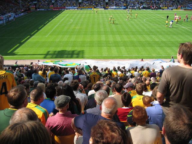 Carrow Road Football ground