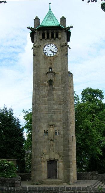Lindley Clock Tower, Huddersfield