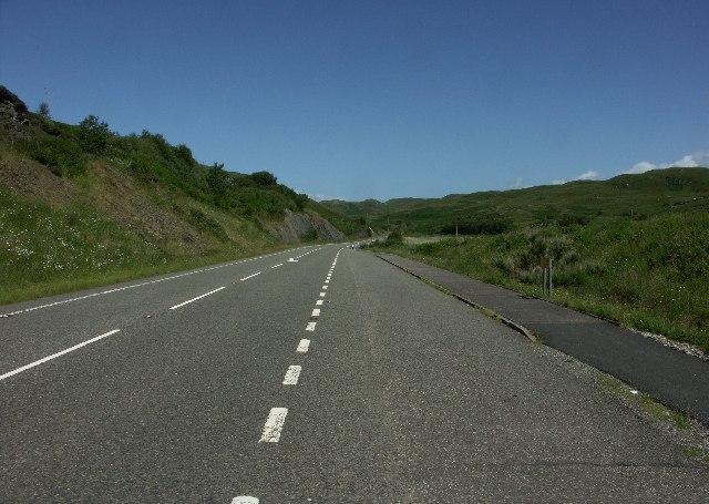 A830 South of Mallaig