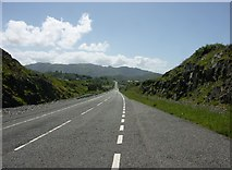 NM6793 : A830 near Morar by J M Briscoe