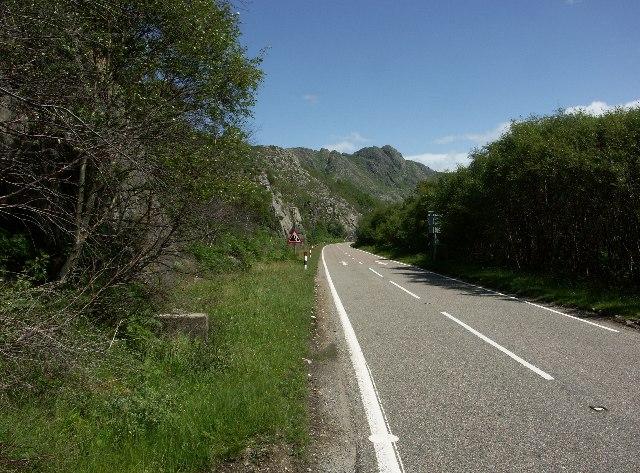 A830 near Beasdale