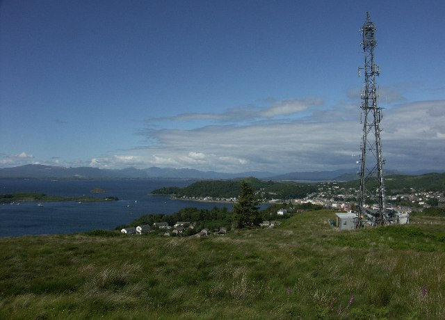 View from Druim Mor over Oban Bay