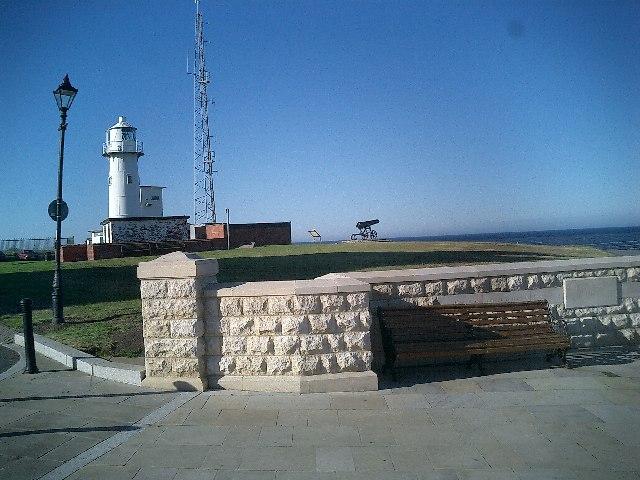 Lighthouse on Hartlepool Headland