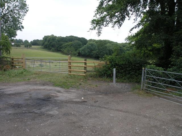 Bridleway & Fields