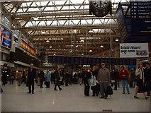 TQ3179 : Waterloo station concourse by GaryReggae