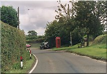 TL6630 : Old phone box, Little Bardfield by Simon Davies