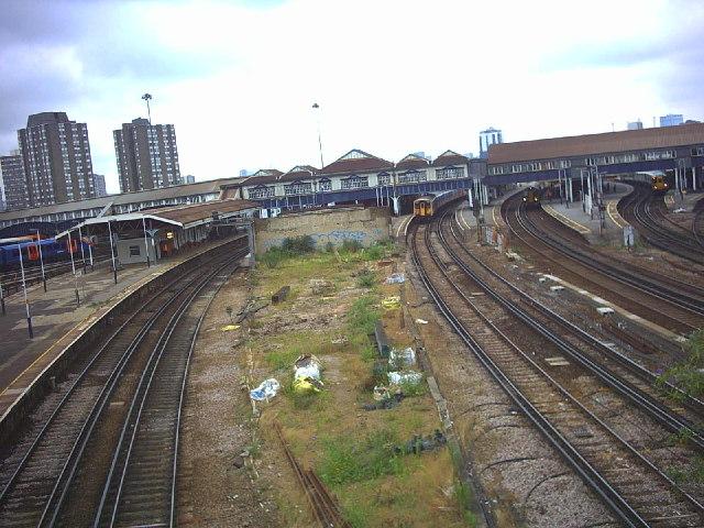 Clapham Junction Railway Station.