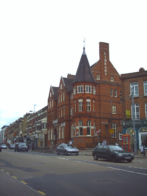 Battersea Library, Lavender Hill.