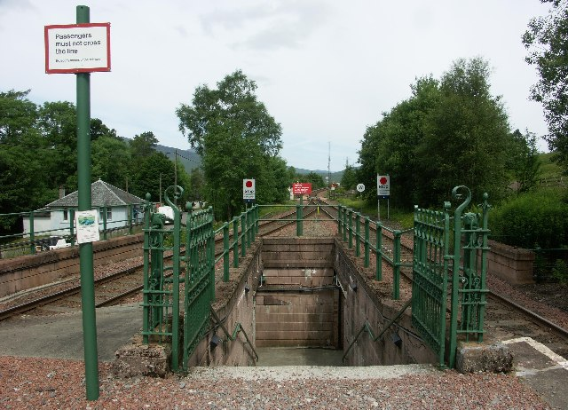 Bridge of Orchy Station