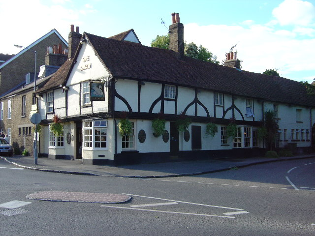 The Swan Public House in Iver Village