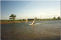 NZ3620 : Bishopton Windsurfing Centre by Mick Garratt